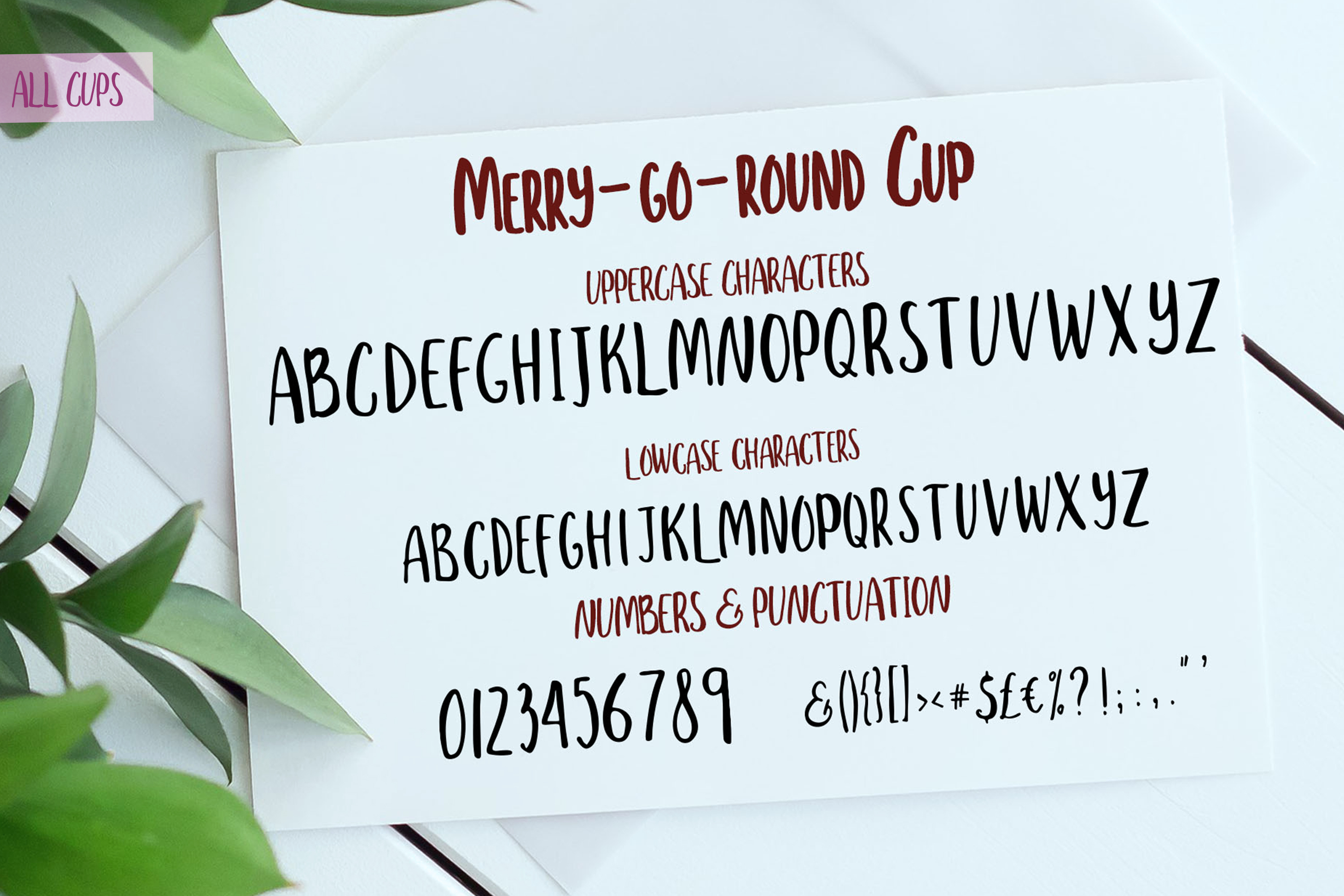Merry go round Font Duo plus Extra swashes example image 12