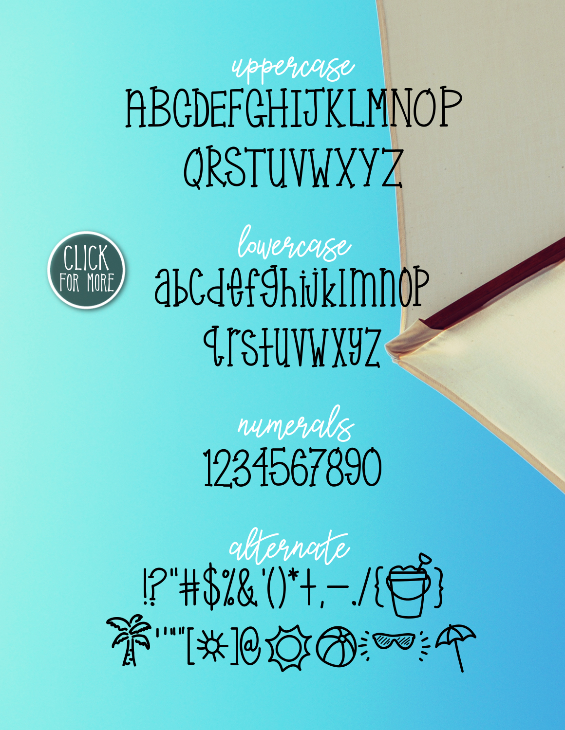 Sunny Beach a Handwritten Typeface example image 2