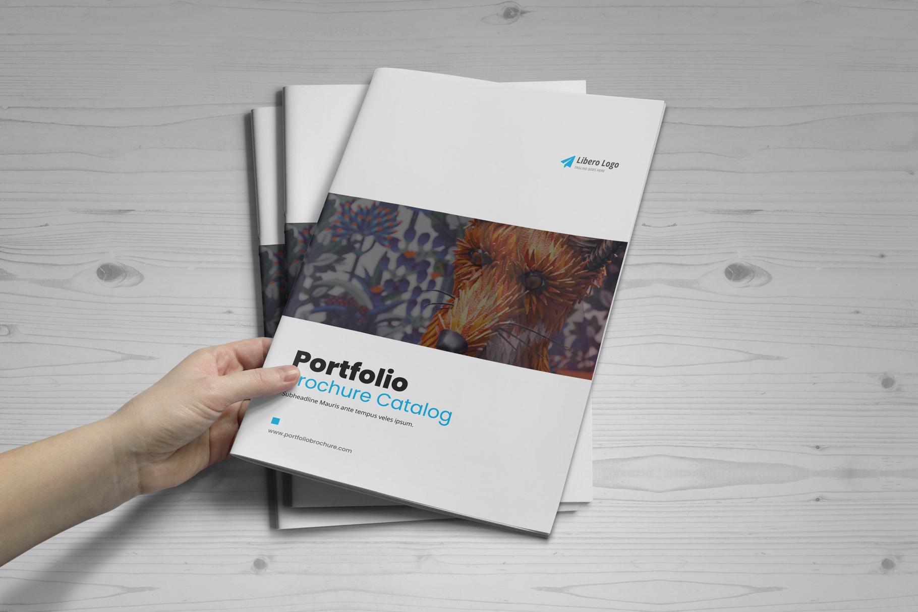 Portfolio Brochure Design v4 example image 12