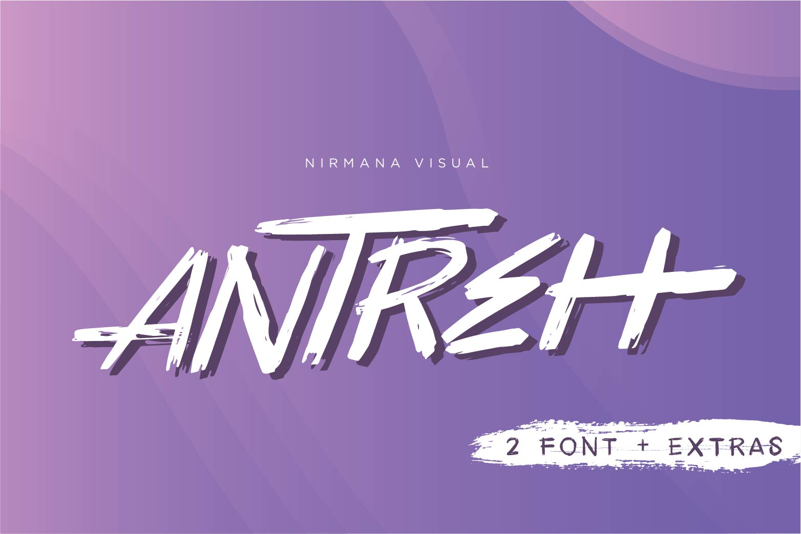 Antreh 2 Font Plus Extra example image 1