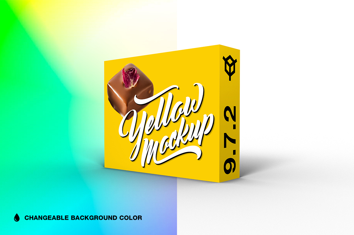 9.7.2 Simple 3D Box Mockup PSD example image 1