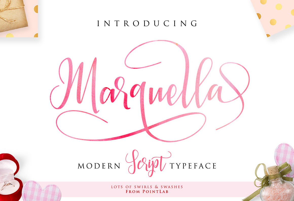 Marquella Script_Get up to 50 example image 1