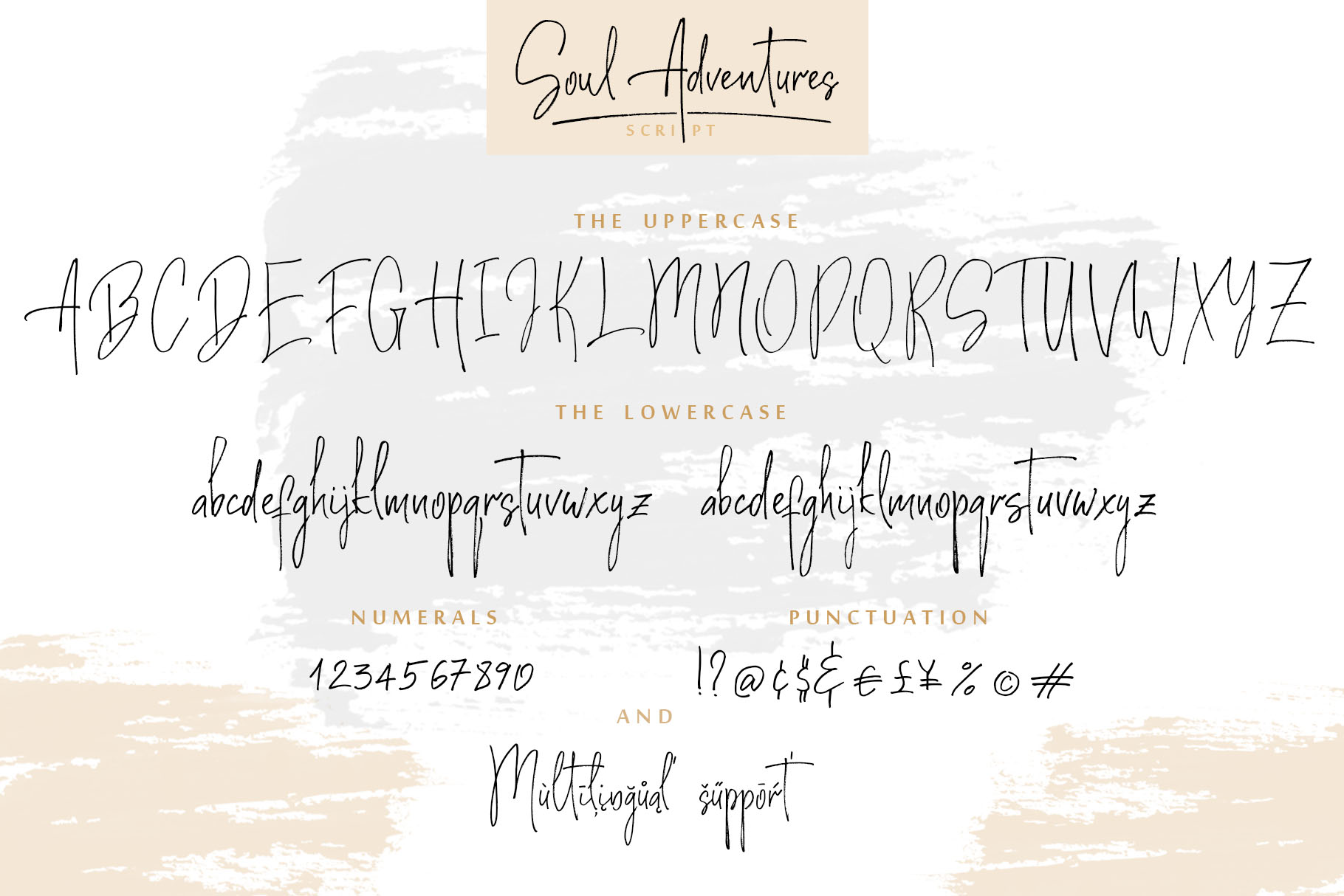 Soul Adventures script font + Extras example image 15