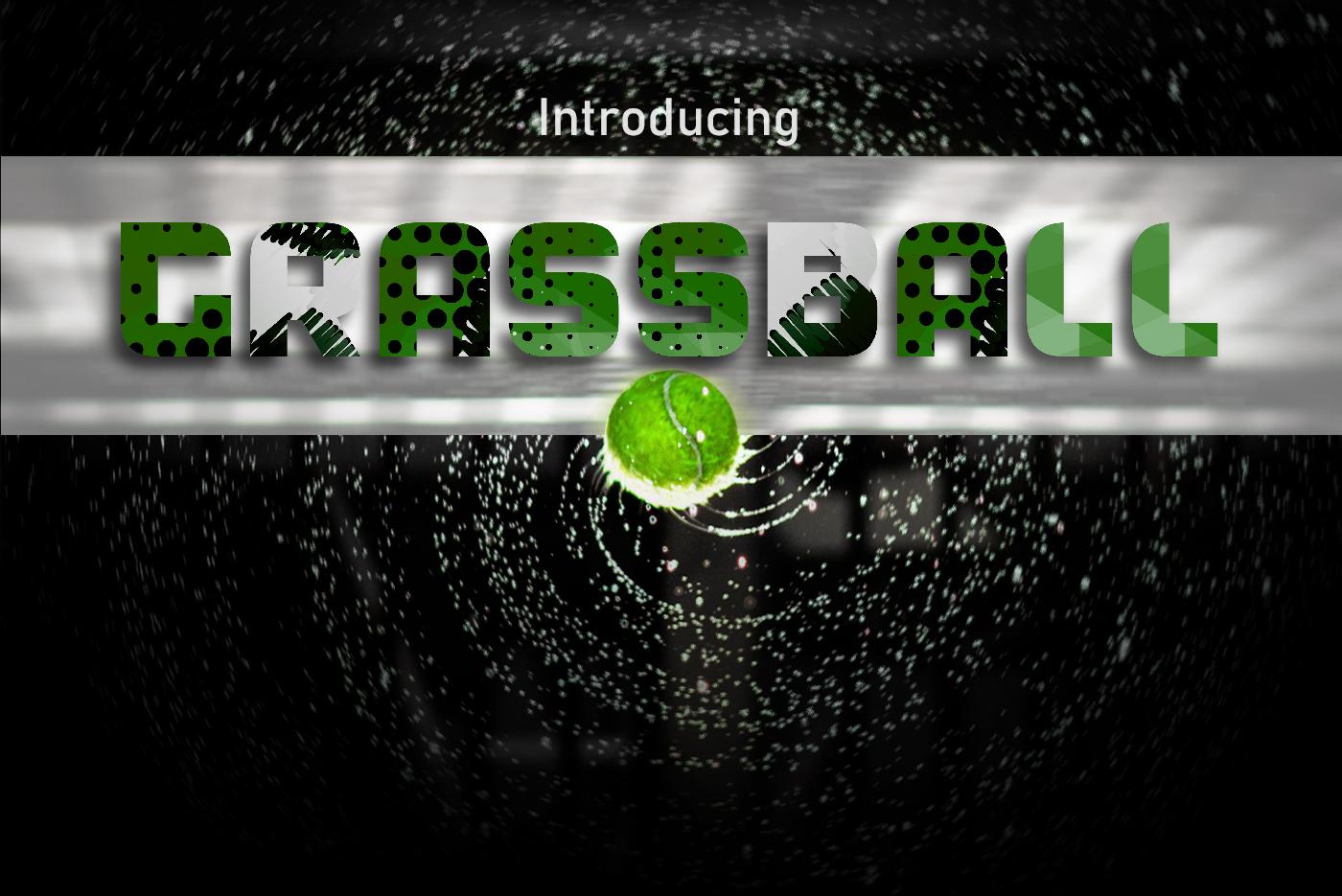 GrassBall Font example image 1