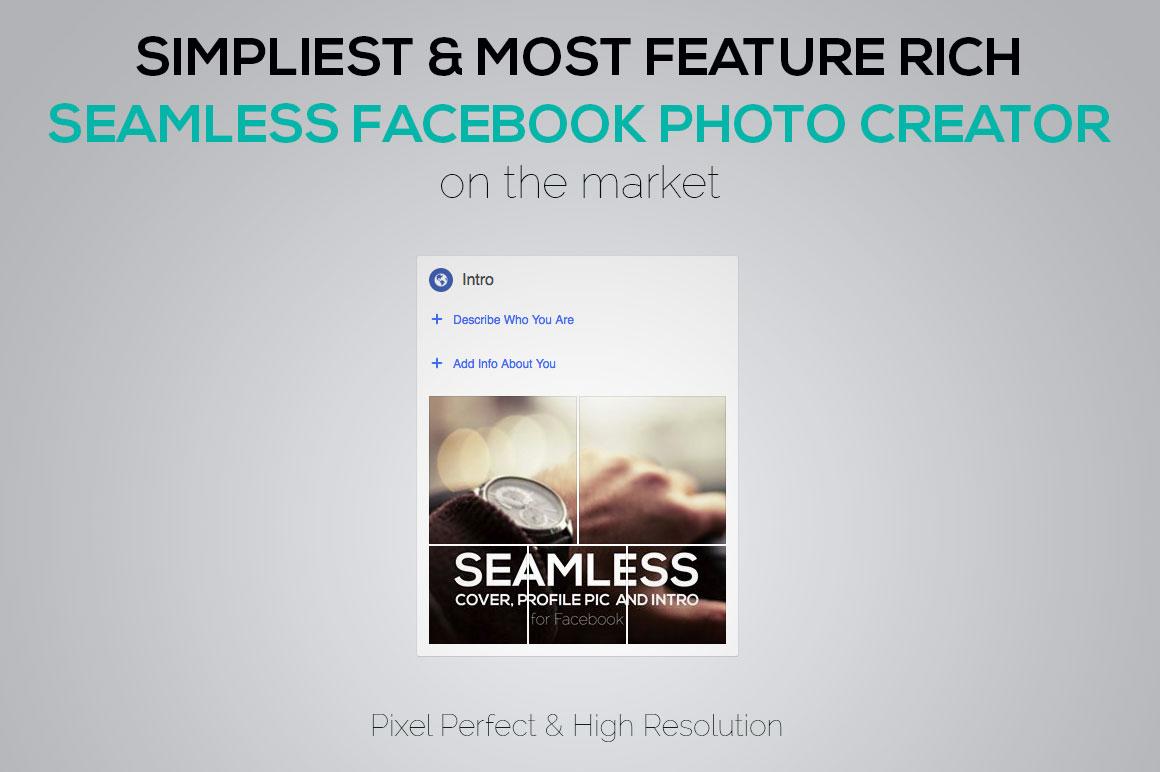Seamless Facebook Photo Creator example image 4