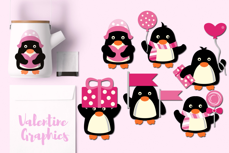 Valentine Penguins example image 1