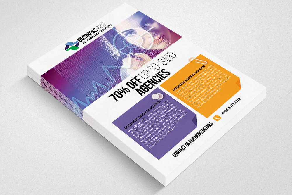 Marketing Consultant Business Flyer example image 2