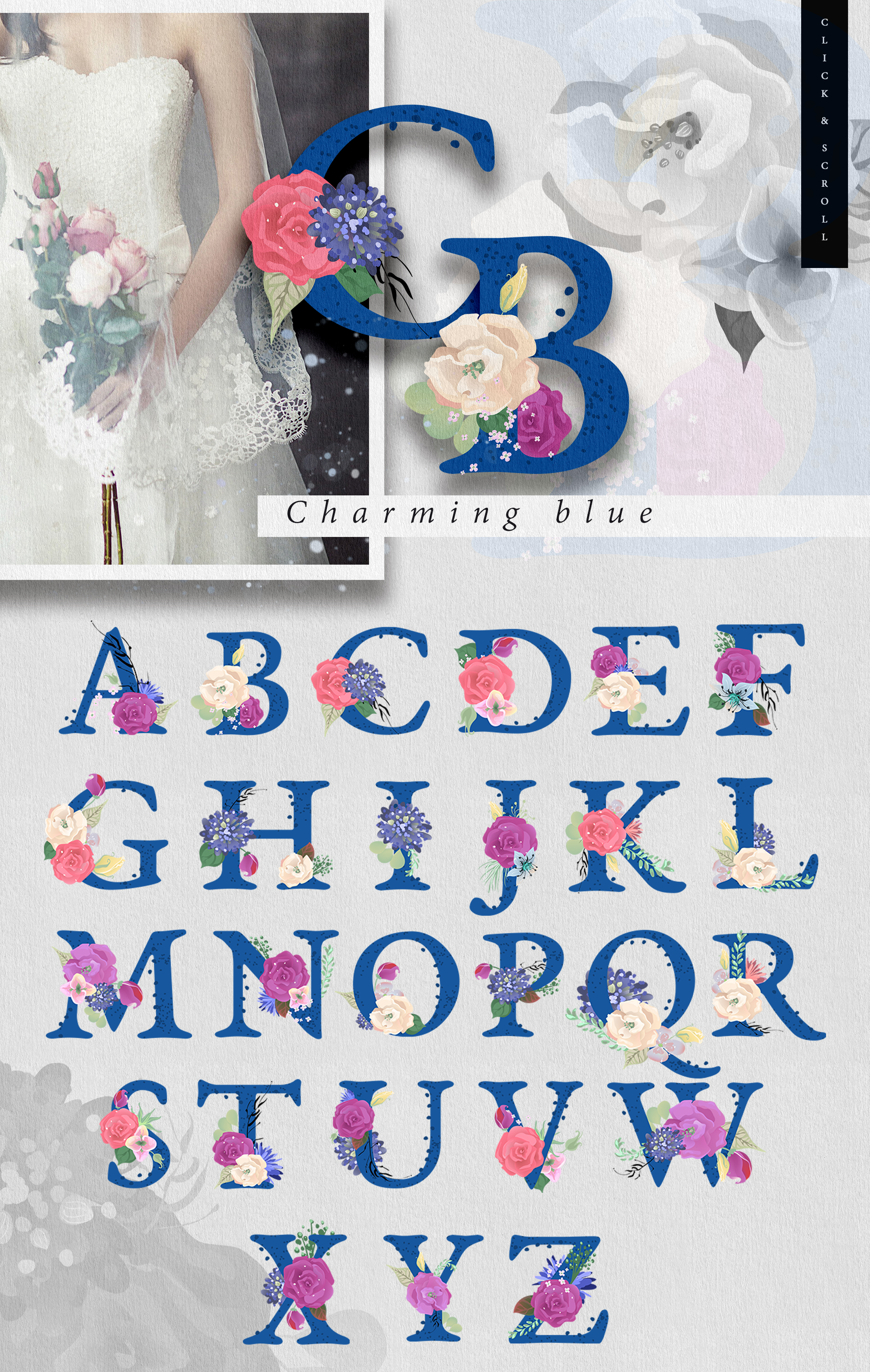 Whimsical Letters example image 8