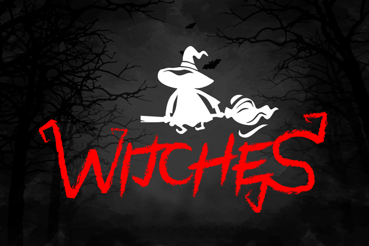 Black Halloween - Spooky Font example image 4