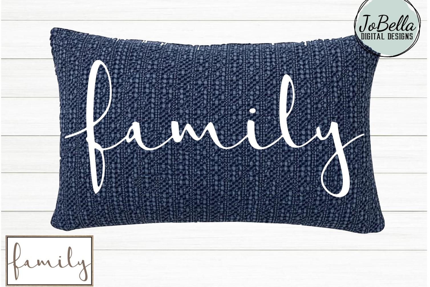 Family SVG, Sublimation Design & Printable Farmhouse Design example image 2