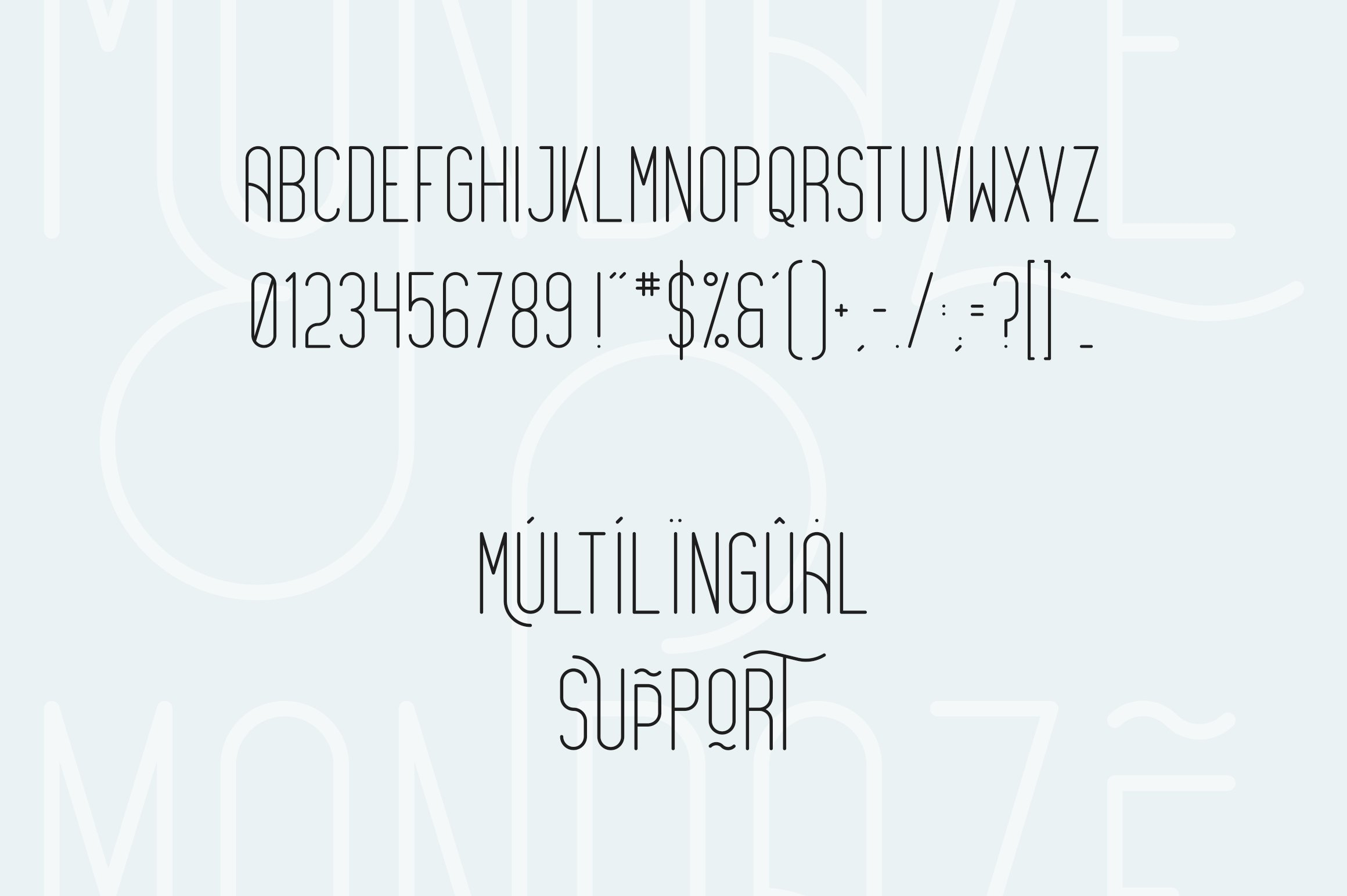 Bestseller font collection 6 typefaces in 1 example image 25