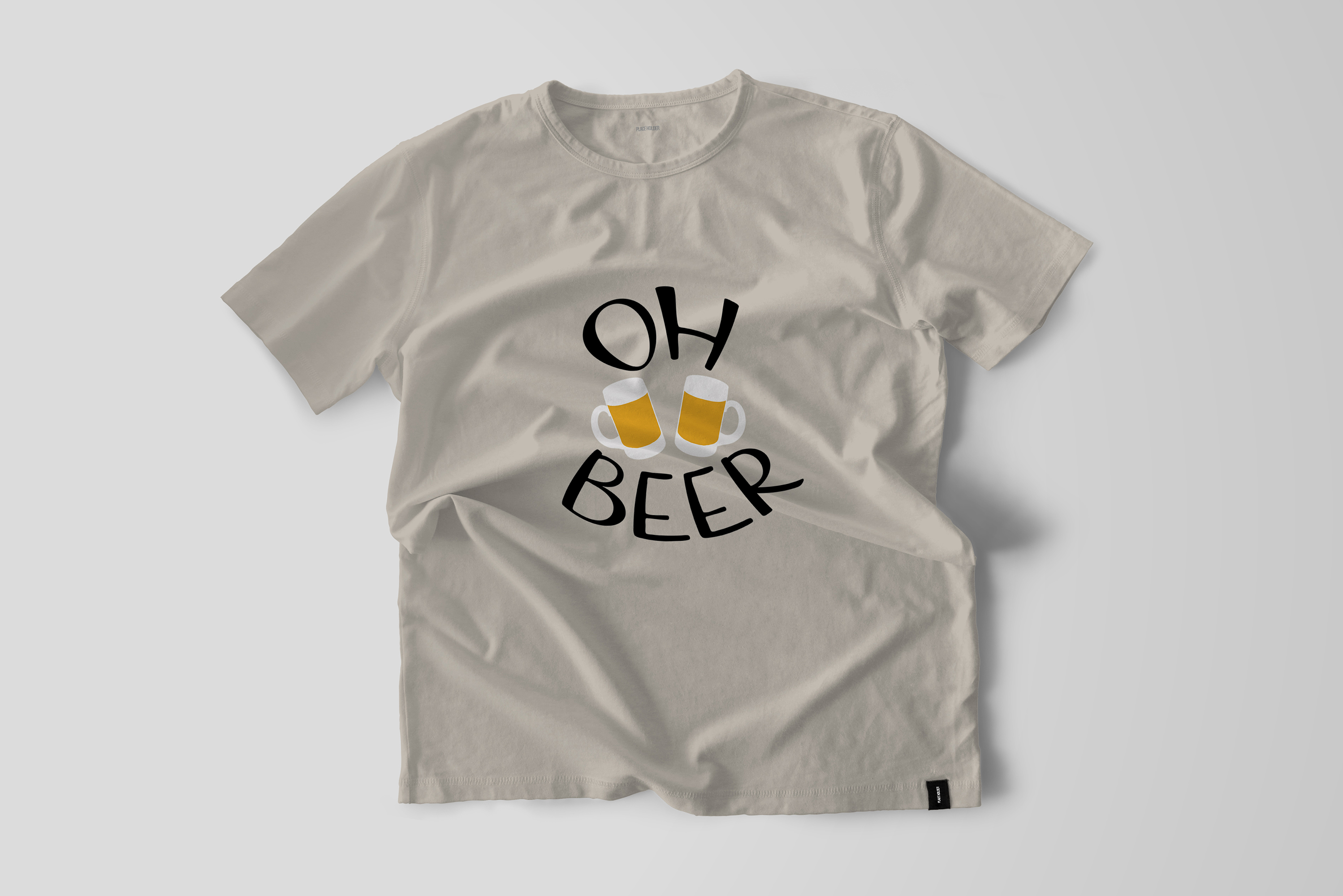 Oh Beer Vector Quote example image 2