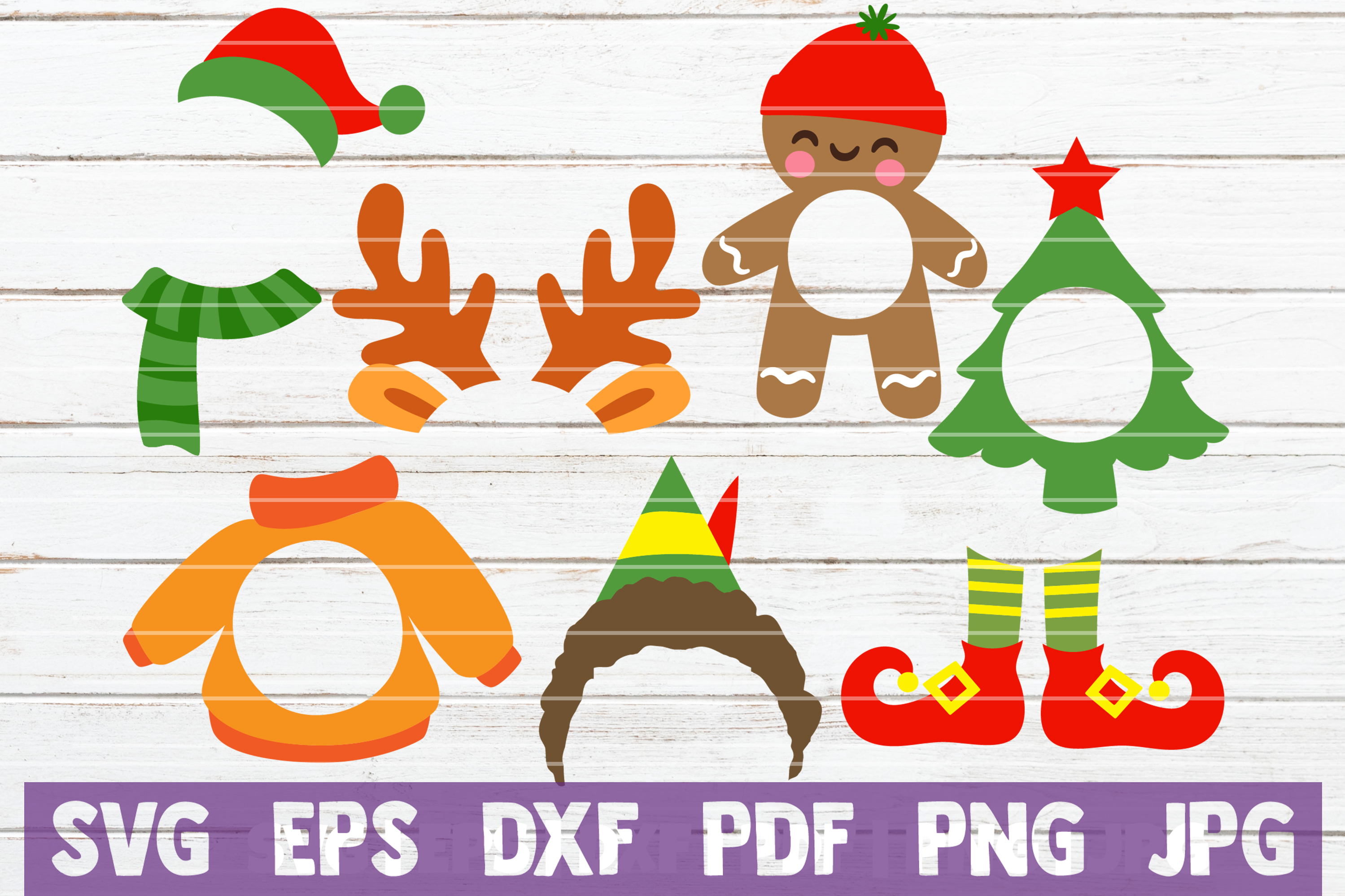 Christmas SVG Bundle | SVG Cut Files example image 6