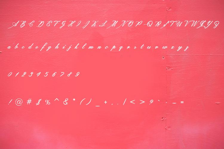 Assamurat - Calligraphy Font example image 5