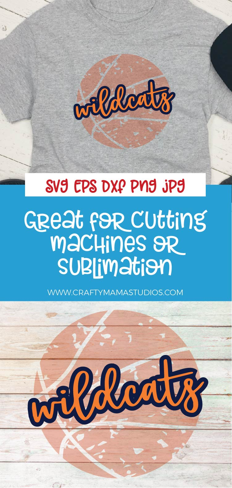 Sports SVG, Wildcats Basketball SVG, Sports Sublimation example image 3