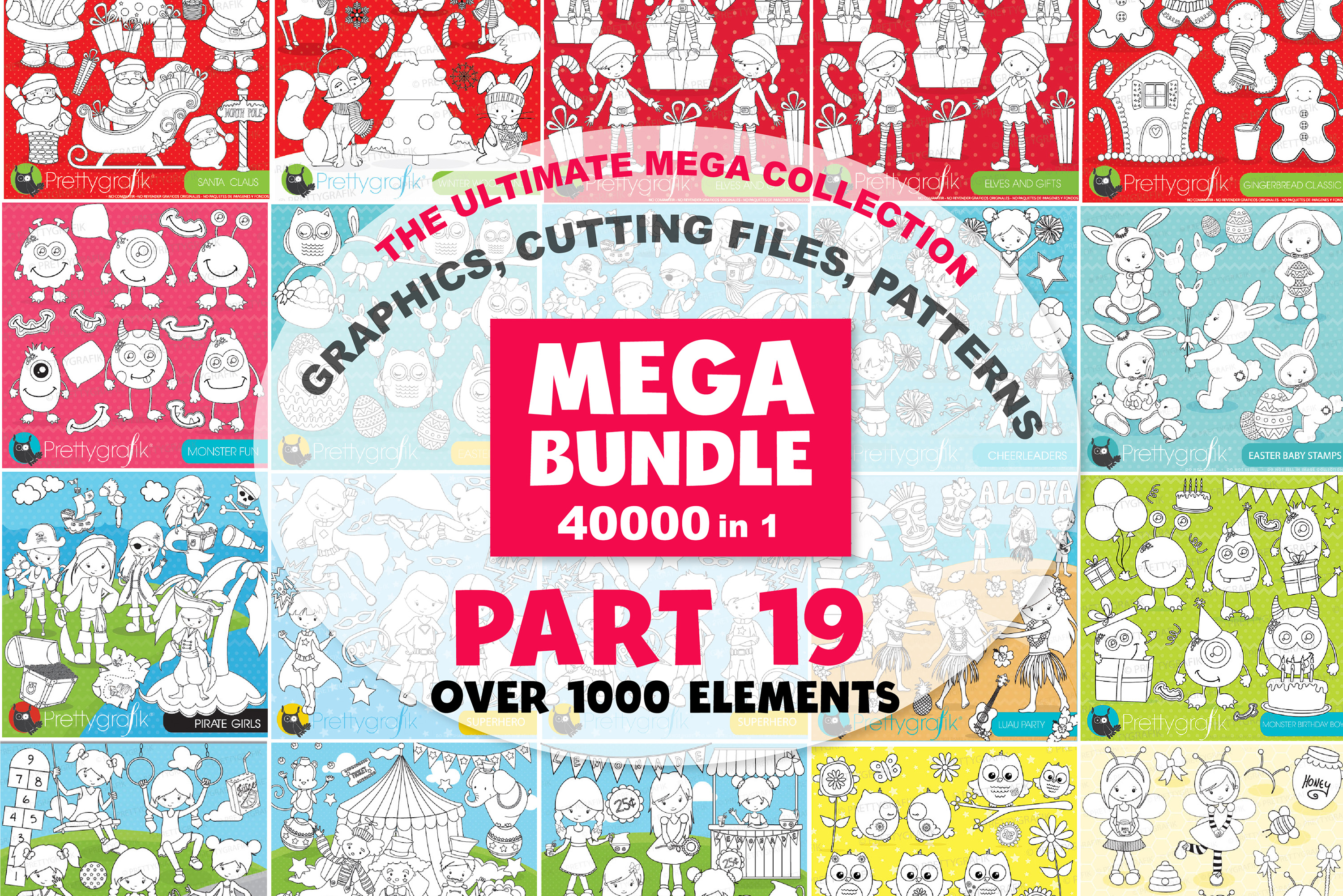MEGA BUNDLE PART19 - 40000 in 1 Full Collection example image 1