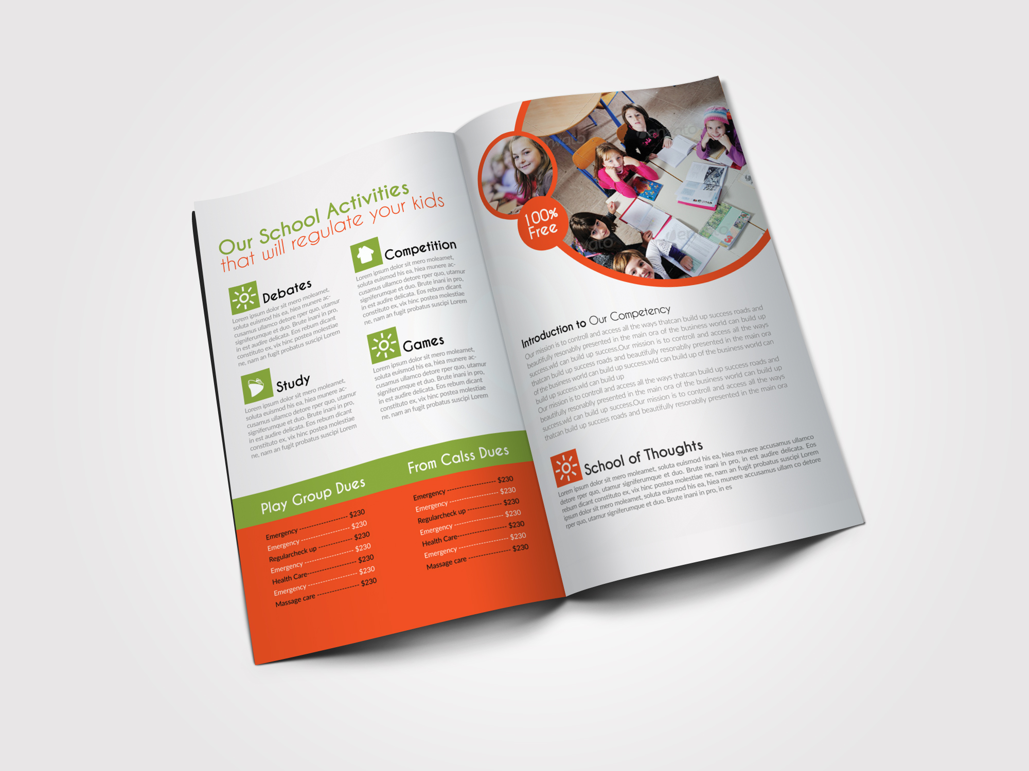 Education Bifold Brochure  example image 2
