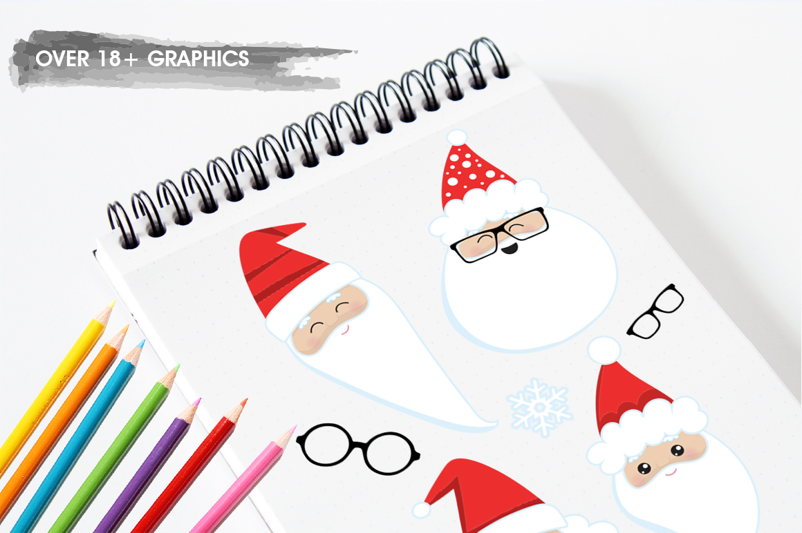 Santa Claus graphic and illustrations example image 4