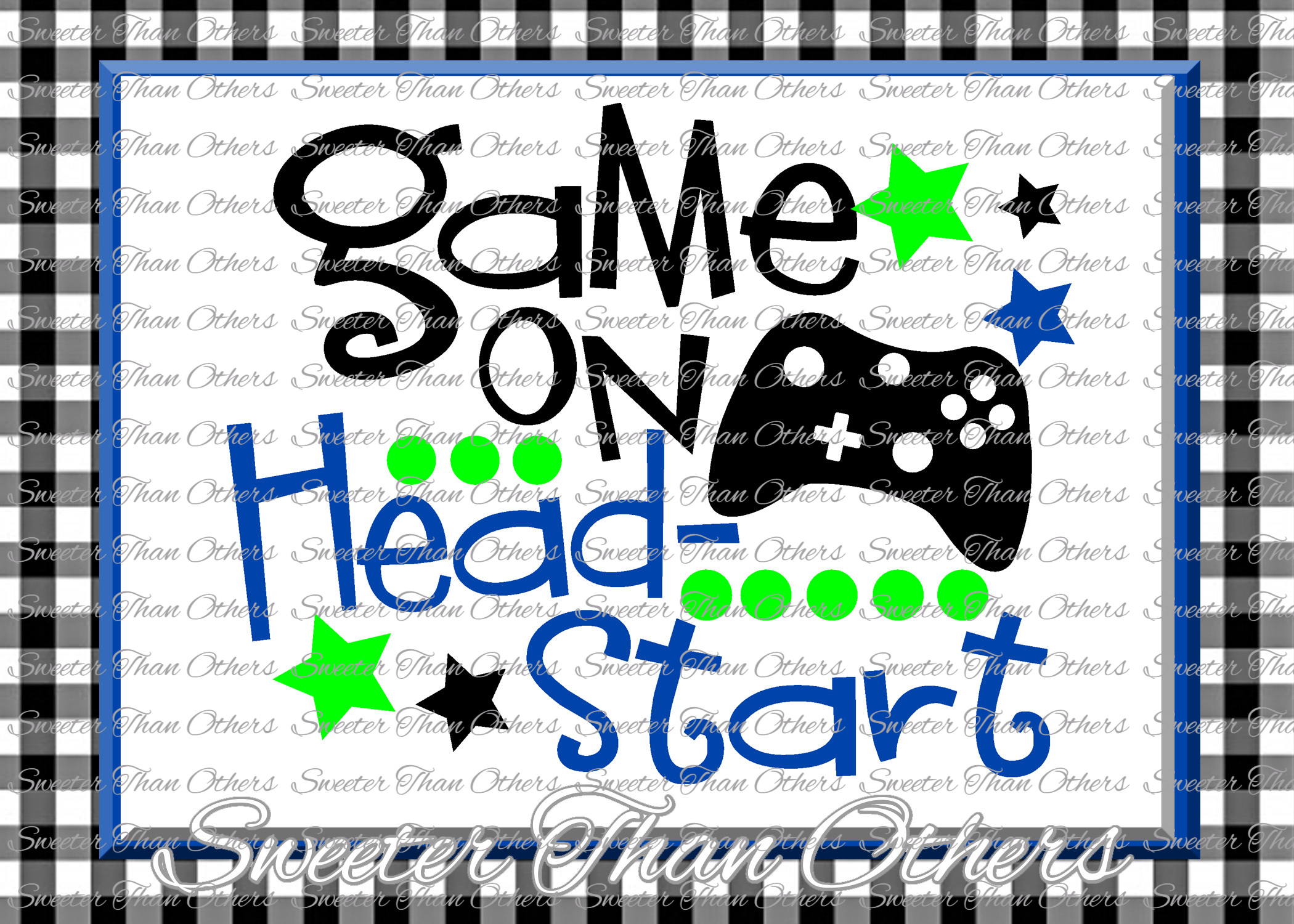 Headstart SVG Headstart Game On cut file Last Day of School example image 1