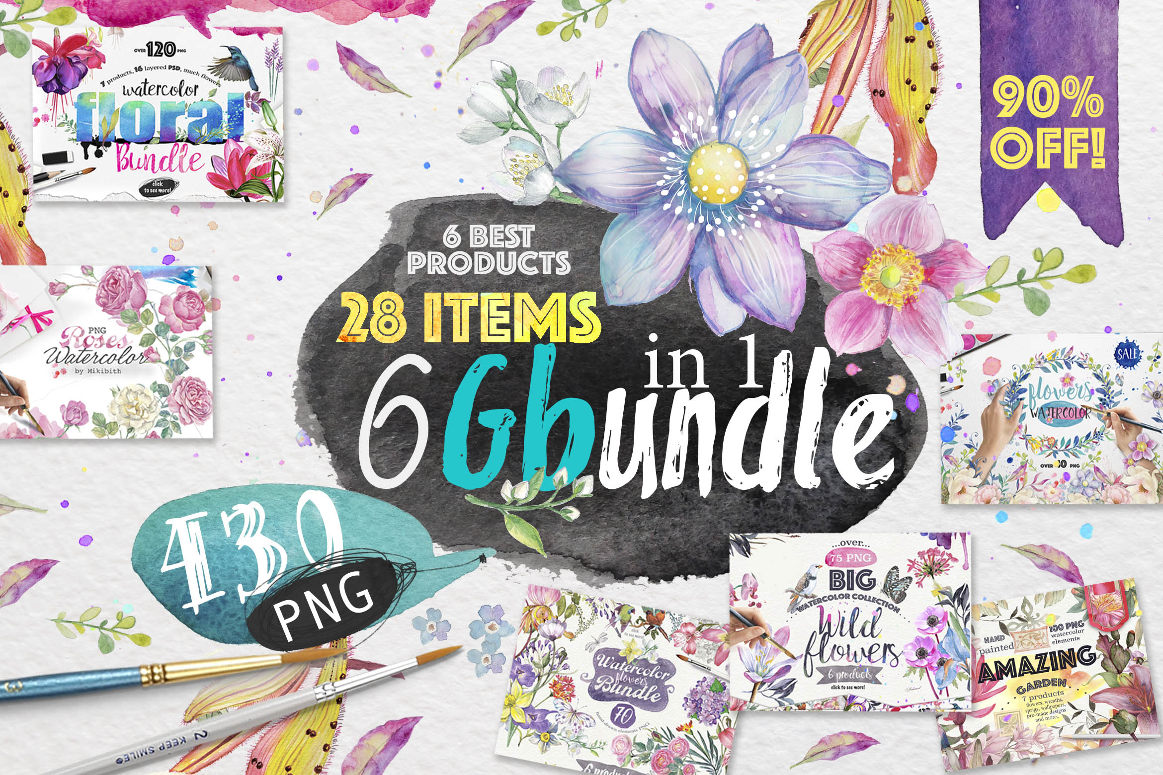 60%OFF! 6G Bundle Bundle example image 1