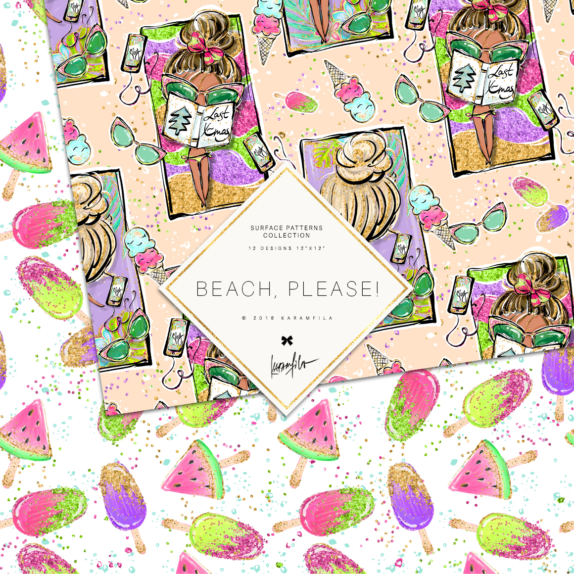 Beach Patterns example image 4