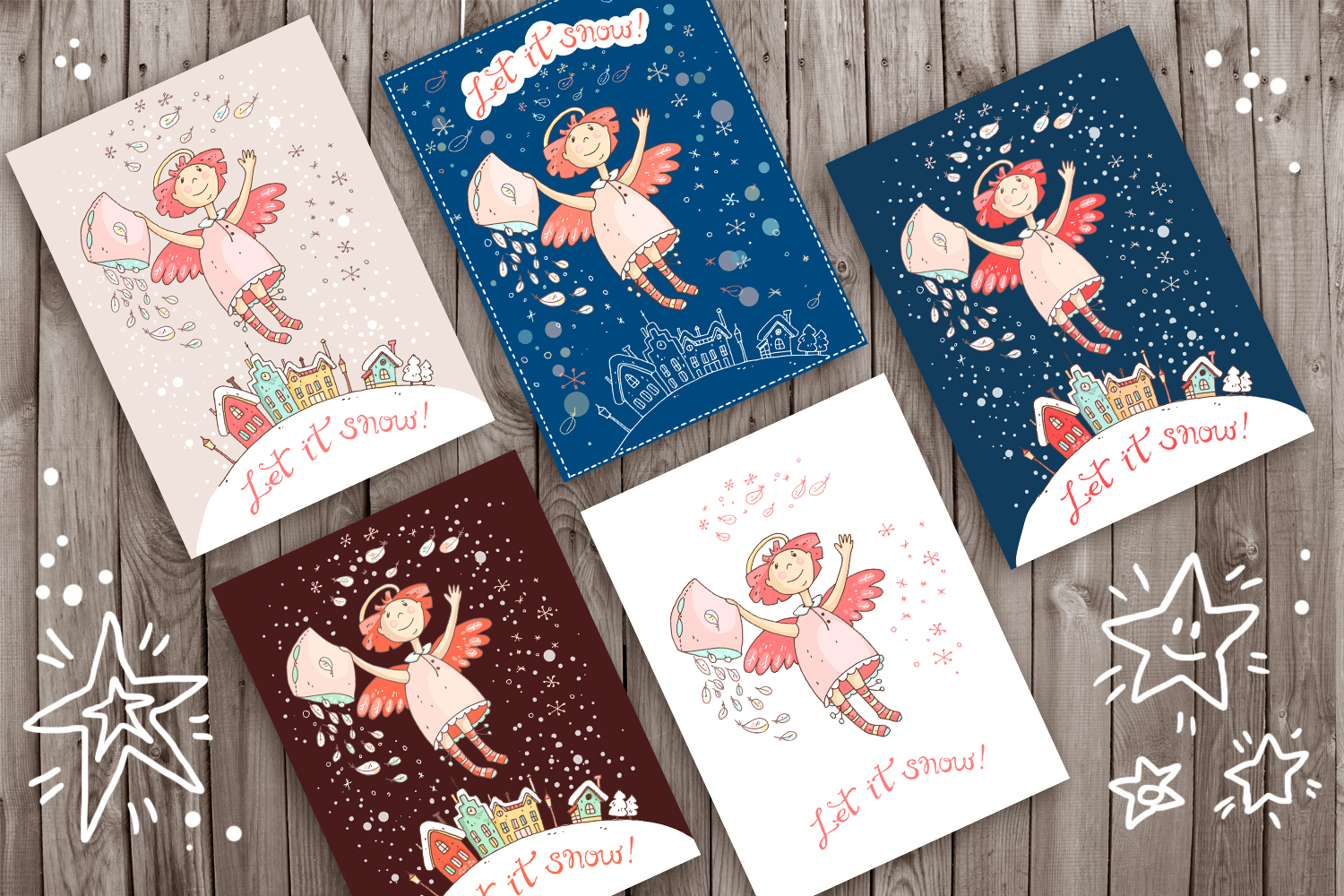 Winter Greeting Cards example image 2