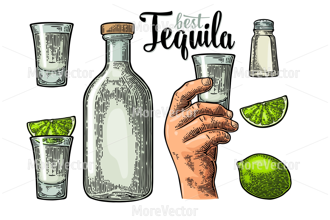Set for tequila. example image 2