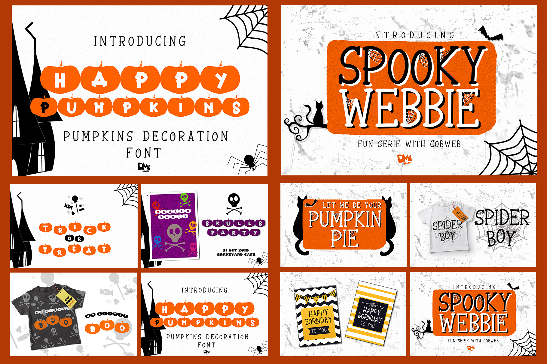 Best SELLER - Halloween Crafting Font BUNDLE example image 17