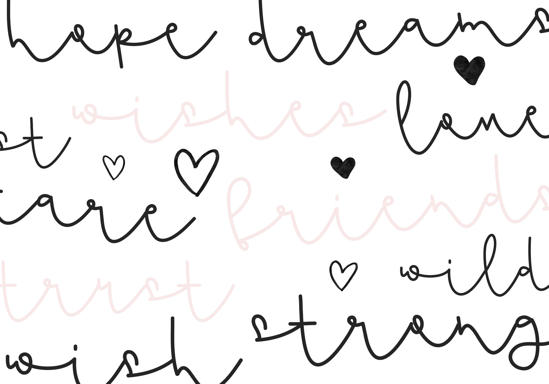 Flamingo - Handwritten Script Font example image 4