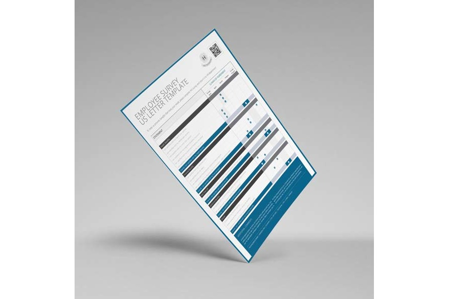Employee Survey US Letter Template example image 5