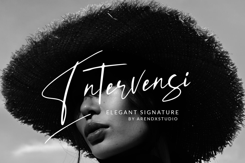 Intervensi Elegant Signature example image 1