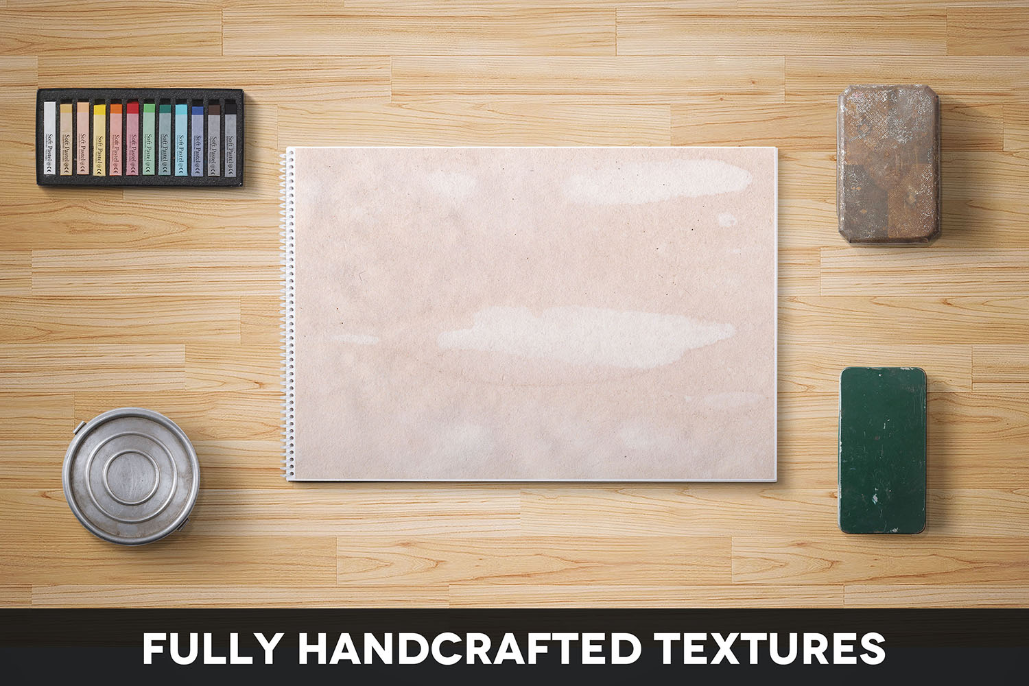 Handcrafted Vintage Paper Textures Vol. 02 example image 2