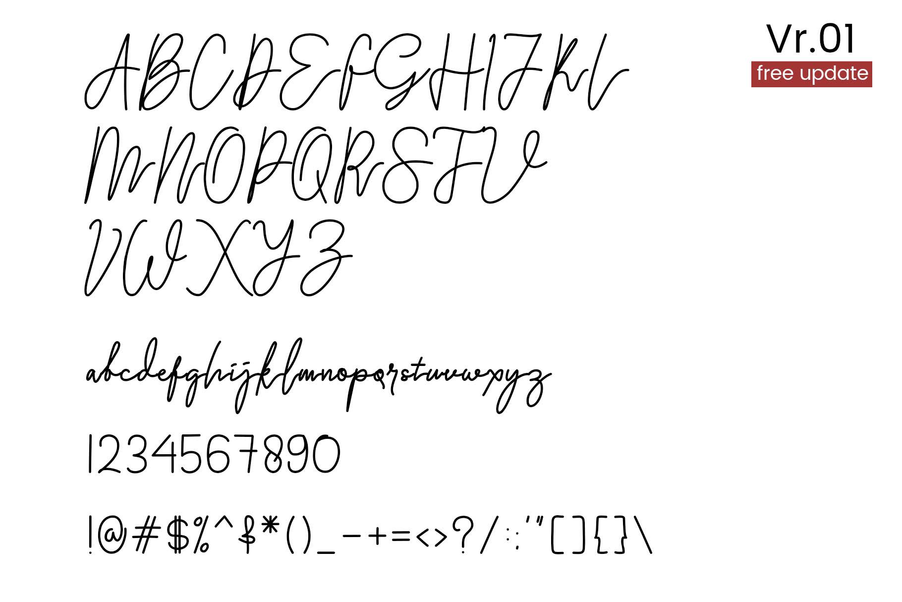 Lycha Font example image 2