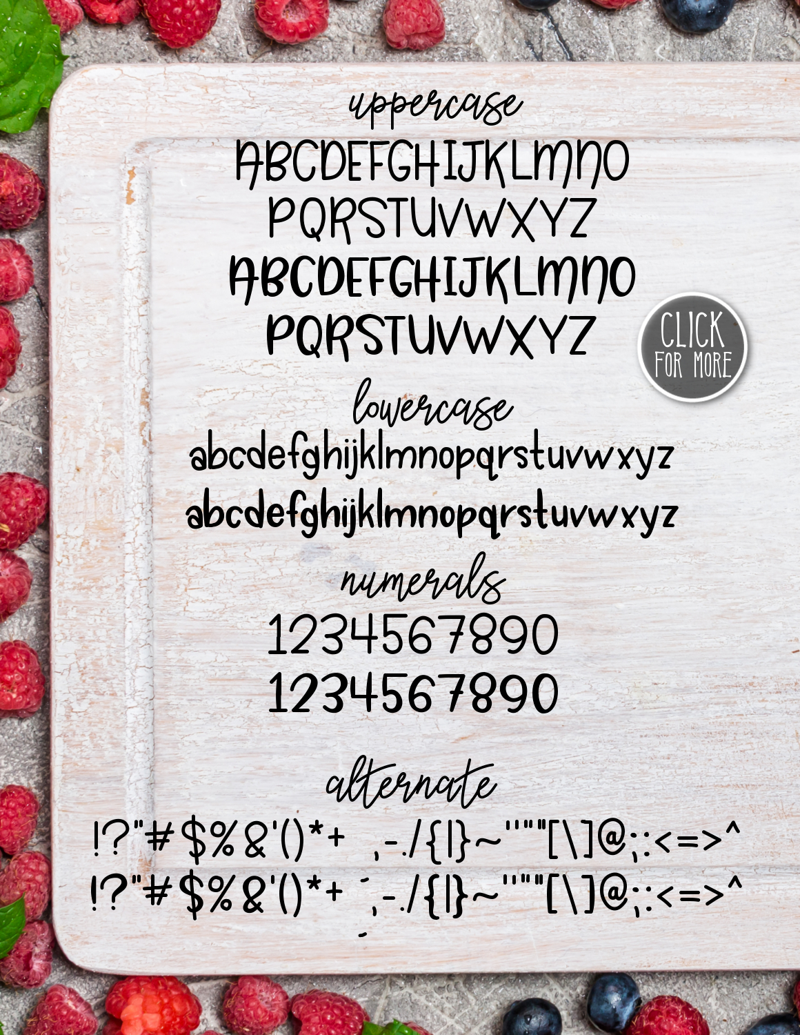 Sweet Berries a Fresh Typeface example image 2