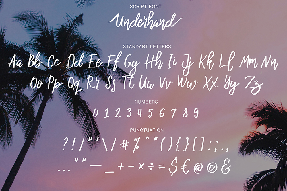 Underhand example image 8