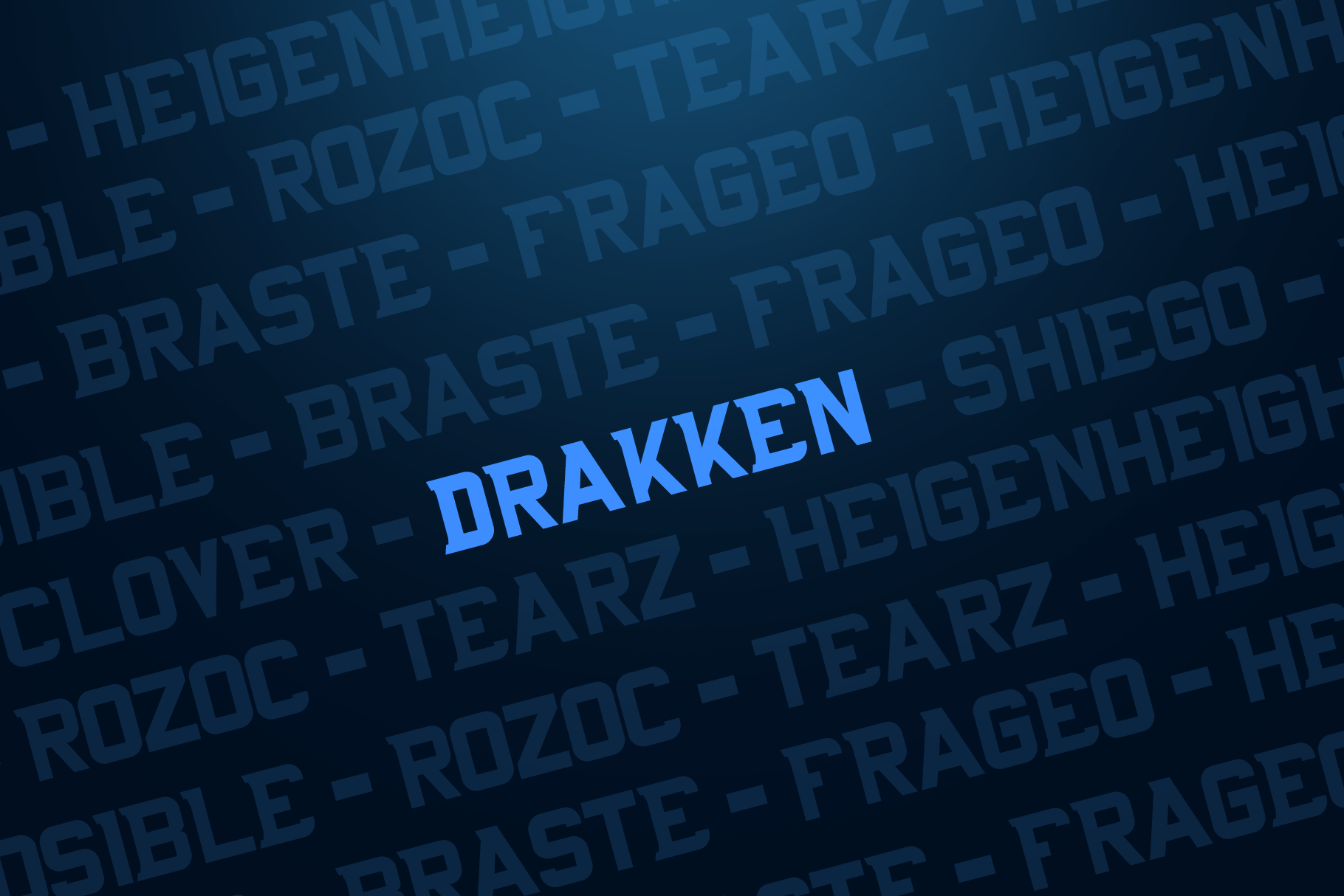 DRAKKEN EXCLUSIVE DISPLAY FONT example image 2