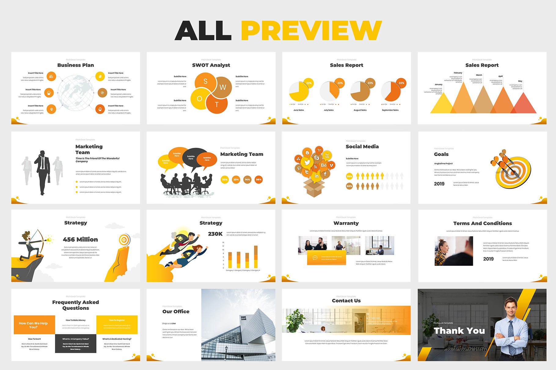 Investment Pitch Deck Google Slides example image 8