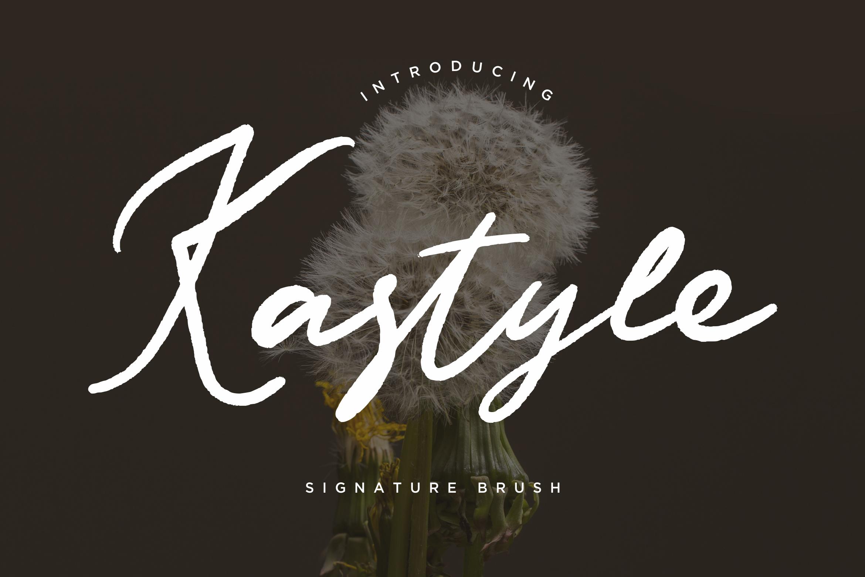 Kastyle Signature Brush example image 1