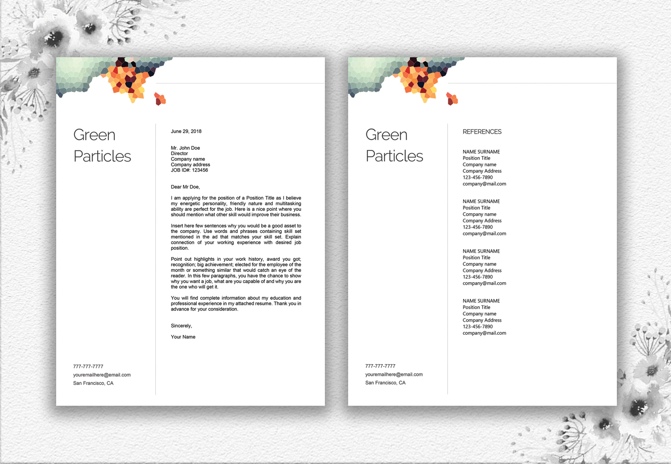 Resume Template Design example image 6