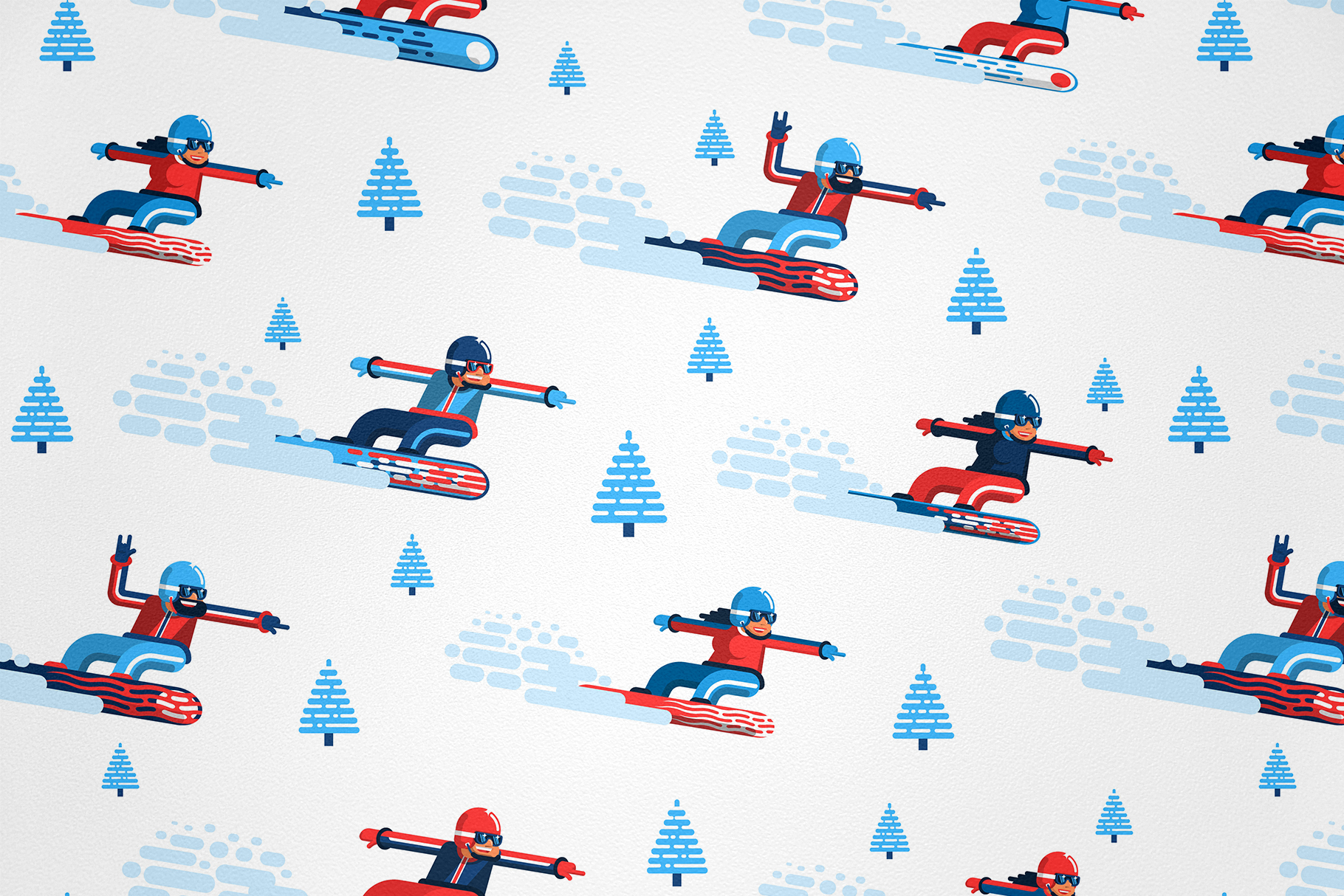 Snowboarding People example image 6