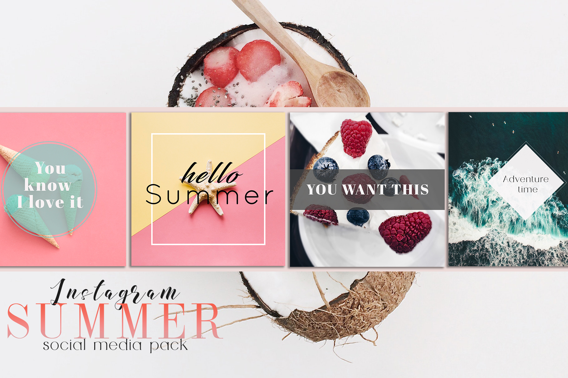 Sweet Summer Instagram Pack example image 5