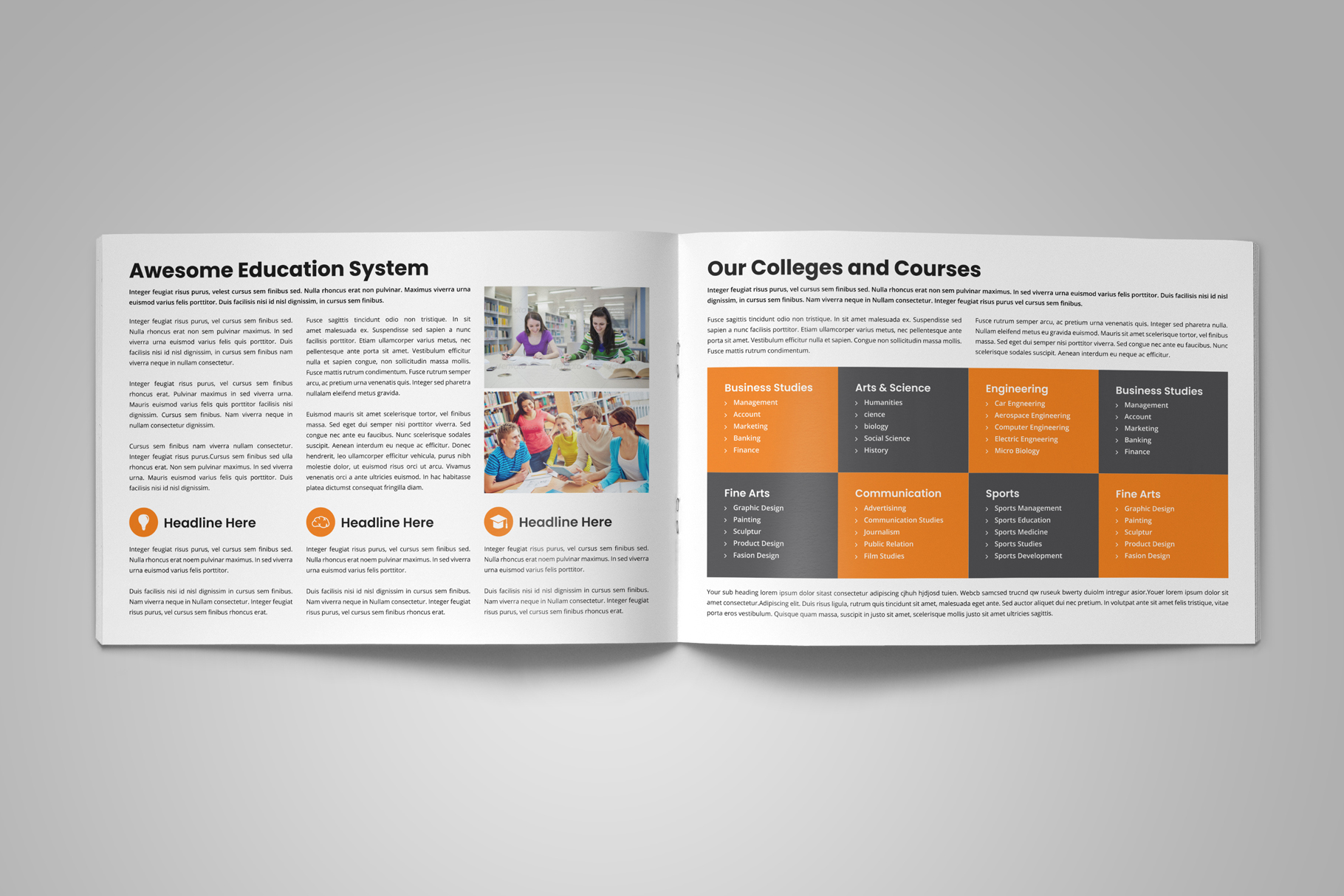 Education Prospectus Brochure v6 example image 6