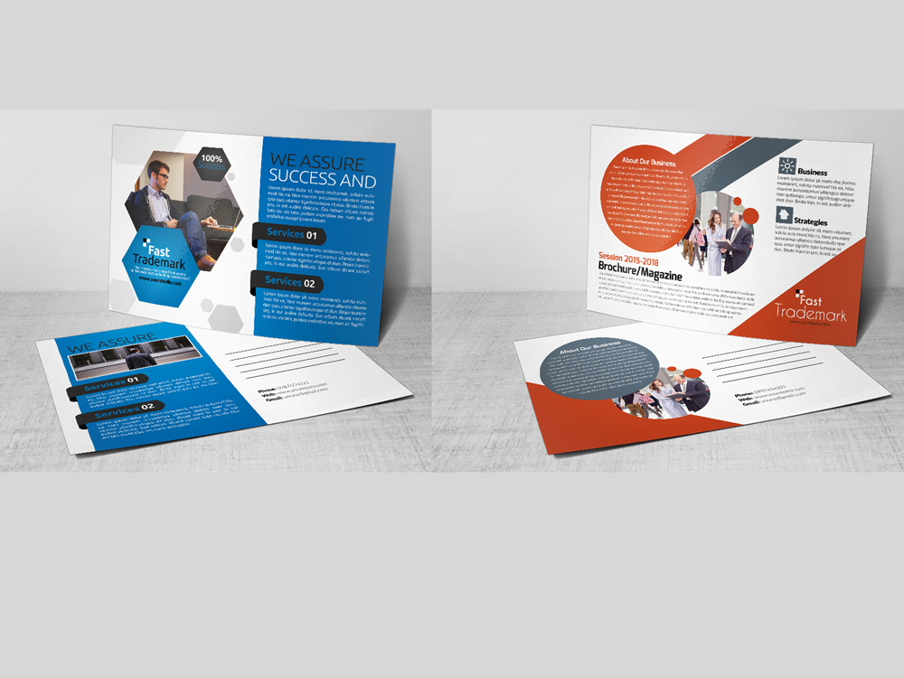 10 Business Postcards Bundle example image 3
