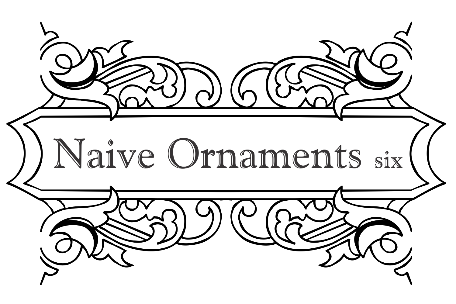 Naive Ornaments Six example image 3
