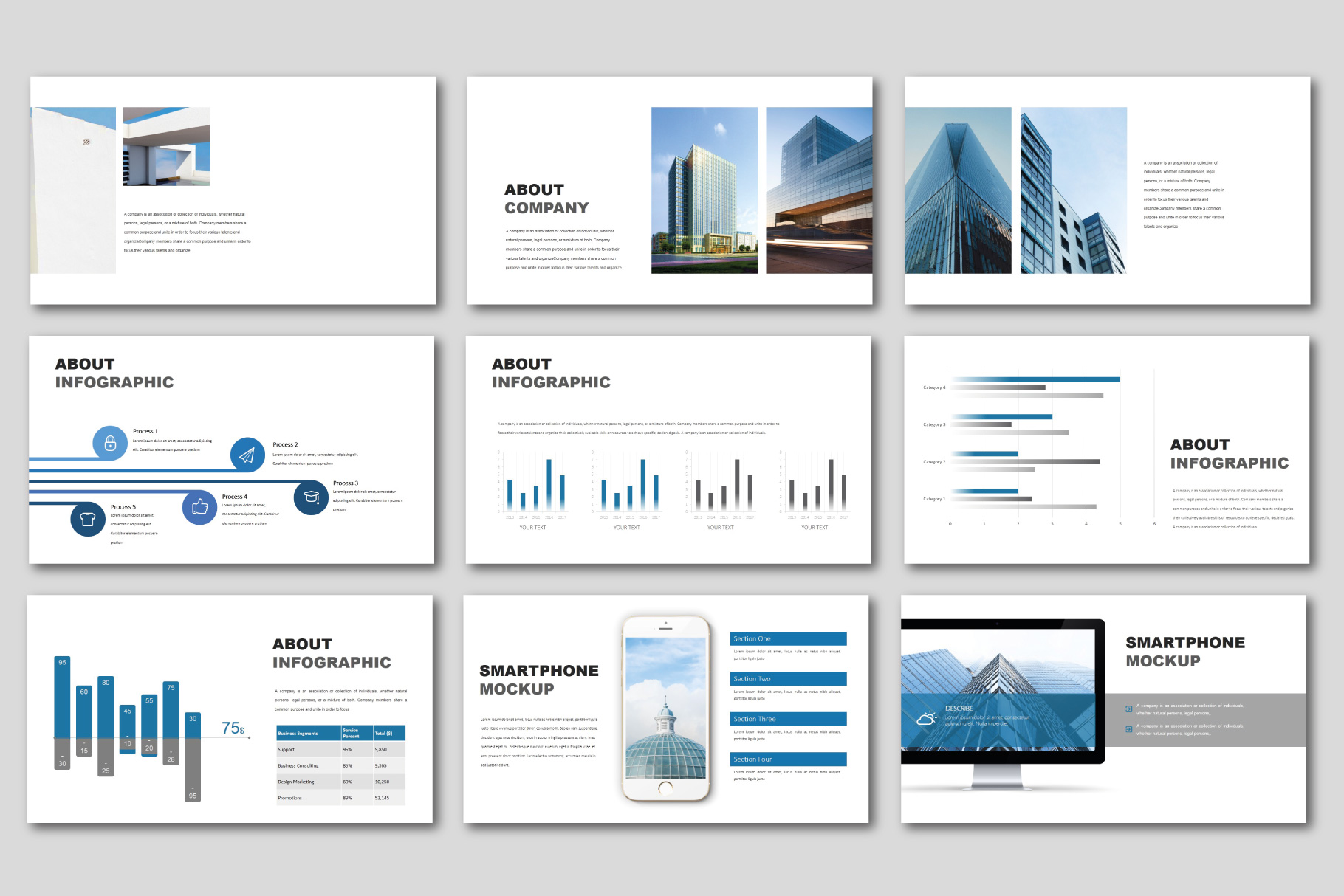 The Best Concept Business PowerPoint example image 5