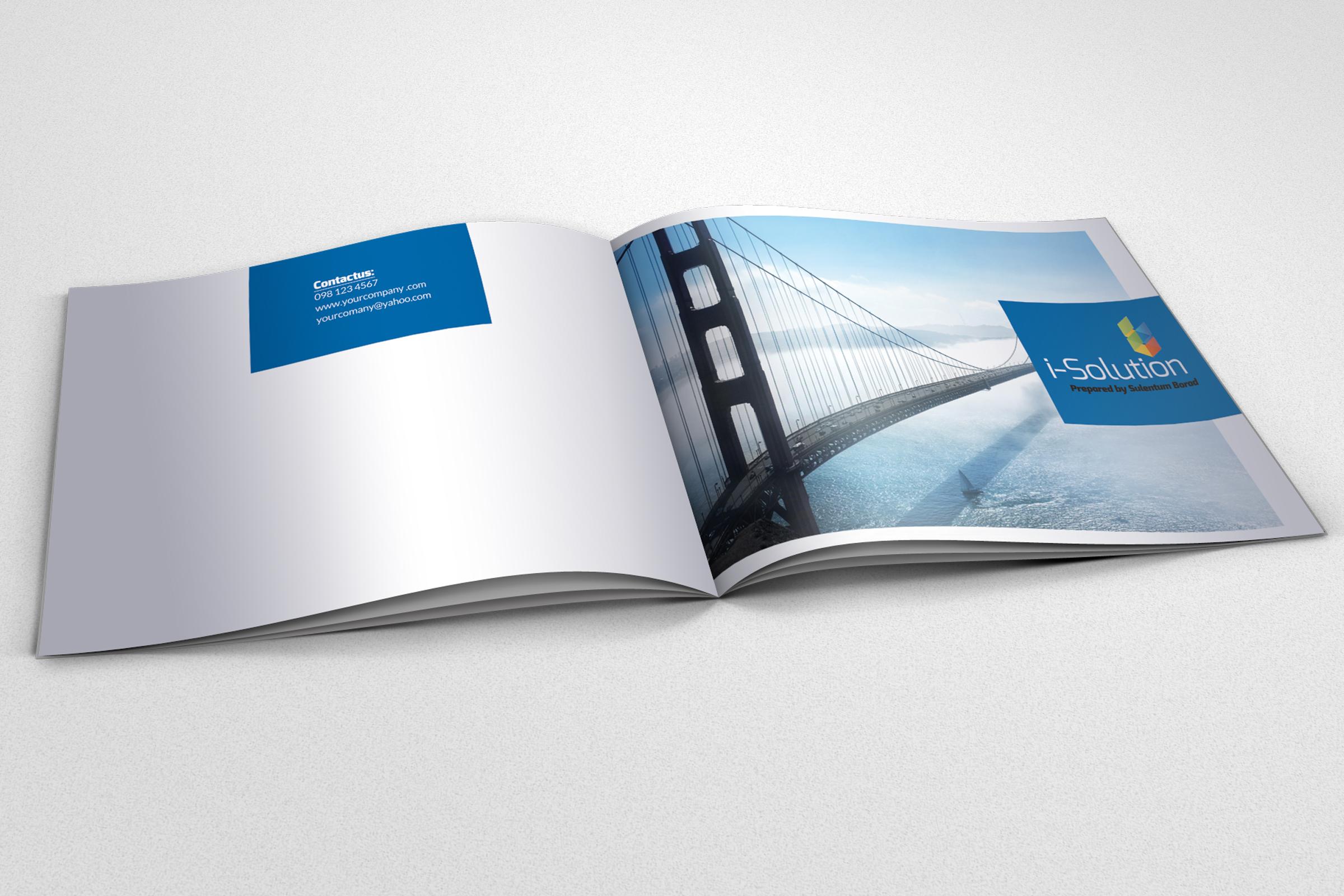 Business Dealing Bifold Brochure example image 2