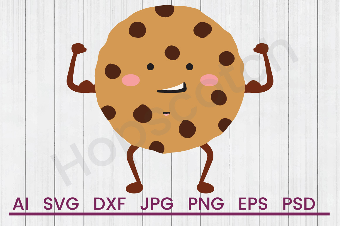 Cookie SVG, DXF File, Cuttatable File example image 1