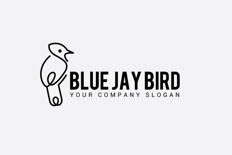 BLUE JAY BIRD LOGO example image 3