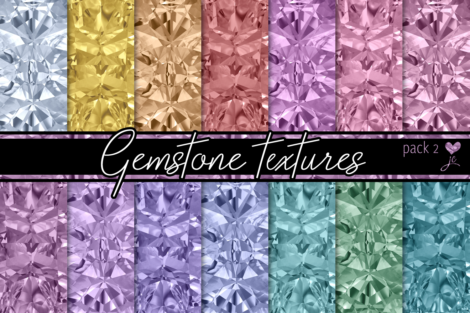 Gemstone Textures Pack 2 example image 1