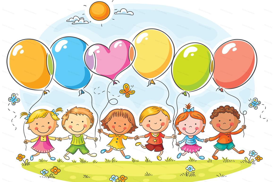 Happy Cartoon Kids Bundle, children doodle, kids doodle example image 13